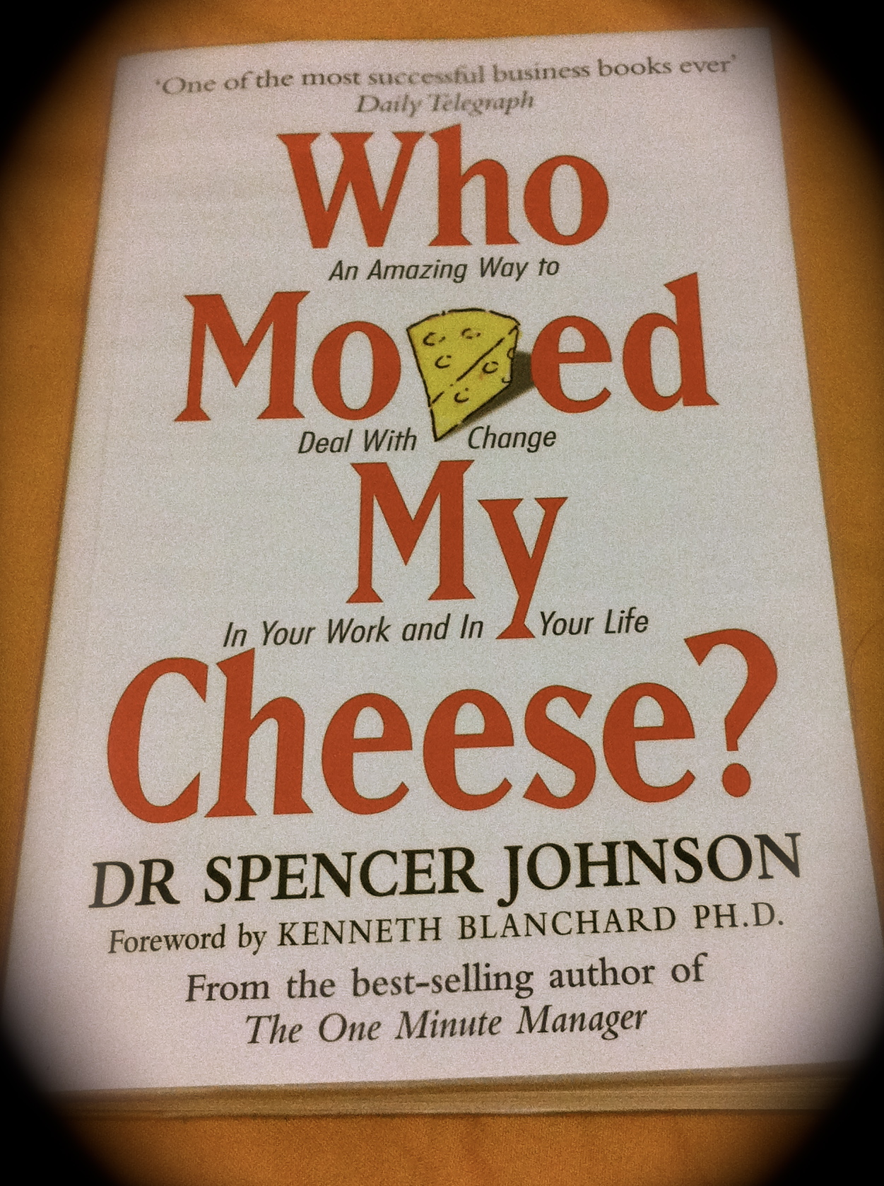 who moved my cheese essay paper Reflections on who moved my cheese free essays, term papers and book reports thousands of papers to select from all free.